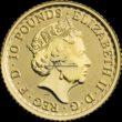 1/10 Unze Britannia Goldmünzen Rückseite 2020