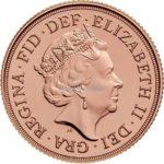 1/2 Sovereign Goldmünzen Rückseite 2018