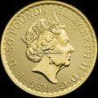1/2 Unze Britannia Goldmünzen Rückseite 2020
