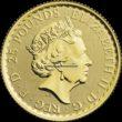 1/4 Unze Britannia Goldmünzen Rückseite 2020