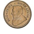 1/4 Unze Krügerrand Goldmünzen Rückseite