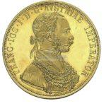 1 Dukat Oesterreich Goldmünzen Vorderseite