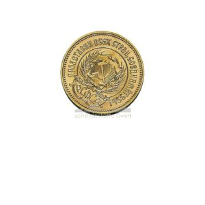 10 Rubel Tscherwonez Russland Goldmünzen Rückseite
