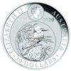 1 kg Australian Kookaburra Silbermünzen Vorderseite 2020