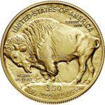1 Unze American Buffalo Goldmünze Rückseite 2020