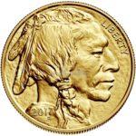 1 Unze American Buffalo Goldmünze Vorderseite 2017