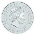 1 Unze Australian Koala Silbermünzen Rückseite 2016