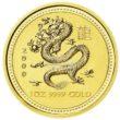 1 Unze Australian Lunar 1 Drache Goldmünzen