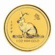 1 Unze Australian Lunar 1 Hase Goldmünzen