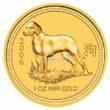 1 Unze Australian Lunar 1 Hund Goldmünzen