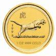 1 Unze Australian Lunar 1 Tiger Goldmünzen
