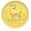 1 Unze Australian Lunar 1 Ziege Goldmünzen