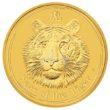 1 Unze Australian Lunar 2 Tiger Goldmünzen