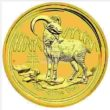 1 Unze Australian Lunar 2 Zeige Goldmünzen