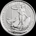 1 Unze Britannia Silbermünzen Vorderseite 2018