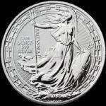 1 Unze Britannia Silbermünzen Vorderseite 2019