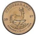 1 Unze Krügerrand Goldmünzen Vorderseite