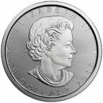 1 Unze Maple Leaf Platinmünzen 2017 Vorderseite