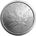 1 Unze Maple Leaf Platinmünzen 2019 Rückseite