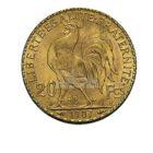 20 Francs Marianne Goldmünzen Rückseite
