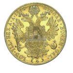 4 Dukat Oesterreich Goldmünzen Rückseite
