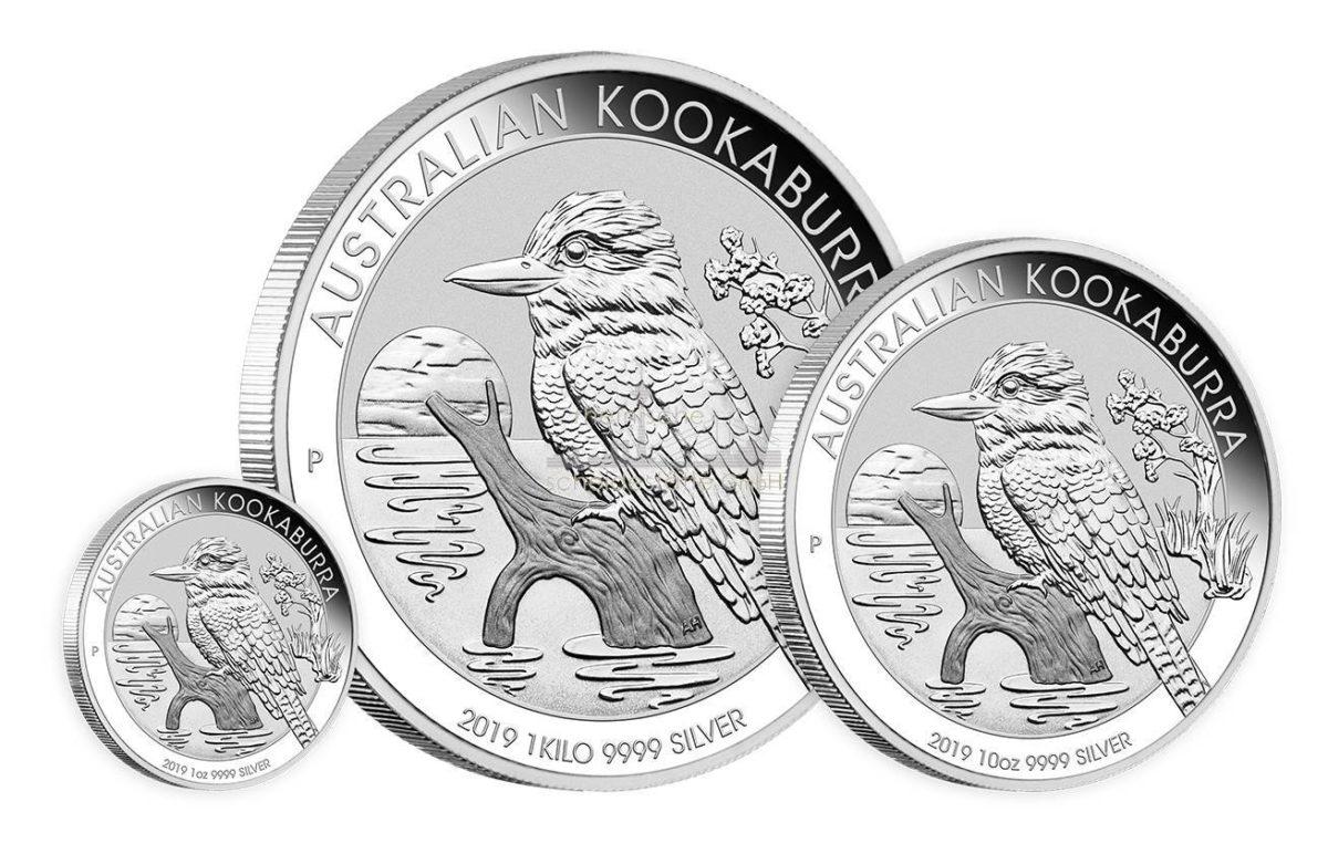 Australian -kookaburra Silbermünzen