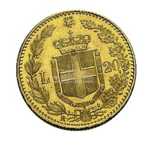 Lire Umberto Italien Goldmünzen Rückseite