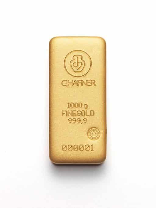 1000g Goldbarren C.HAFNER
