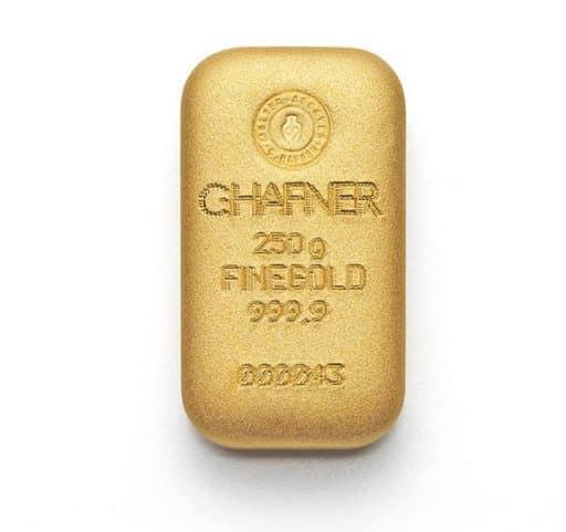 250g Goldbarren C.HAFNER