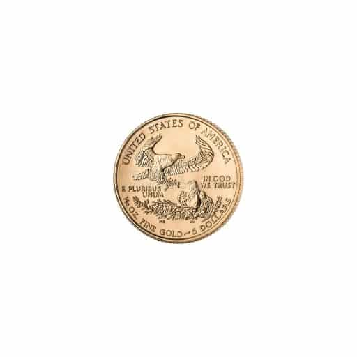 1/10 Unze American Eagle Goldmünze Feingold