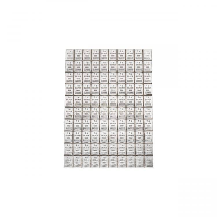 100g Silberbarren