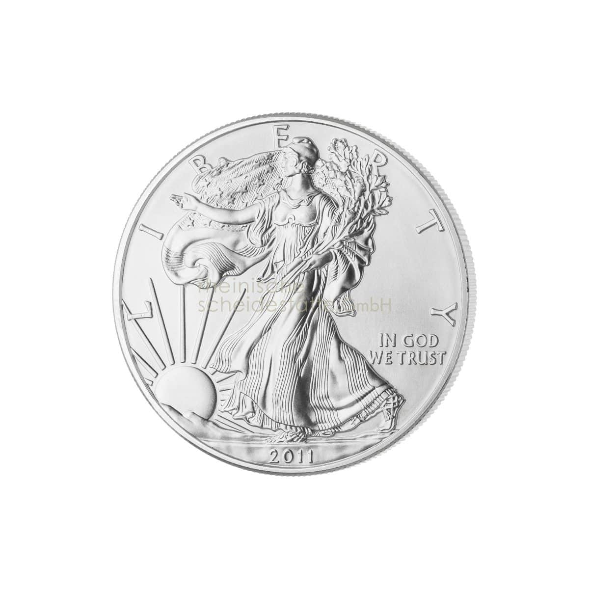 American Eagle Silber Silbermünzen Rückseite