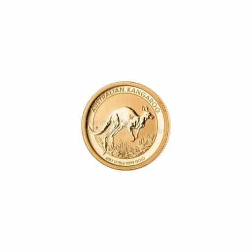 Australian Kangaroo Goldmünze Zehntel Unze