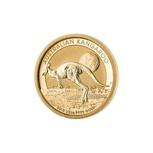 1/2 Unze Australian Kangaroo Gold 2015
