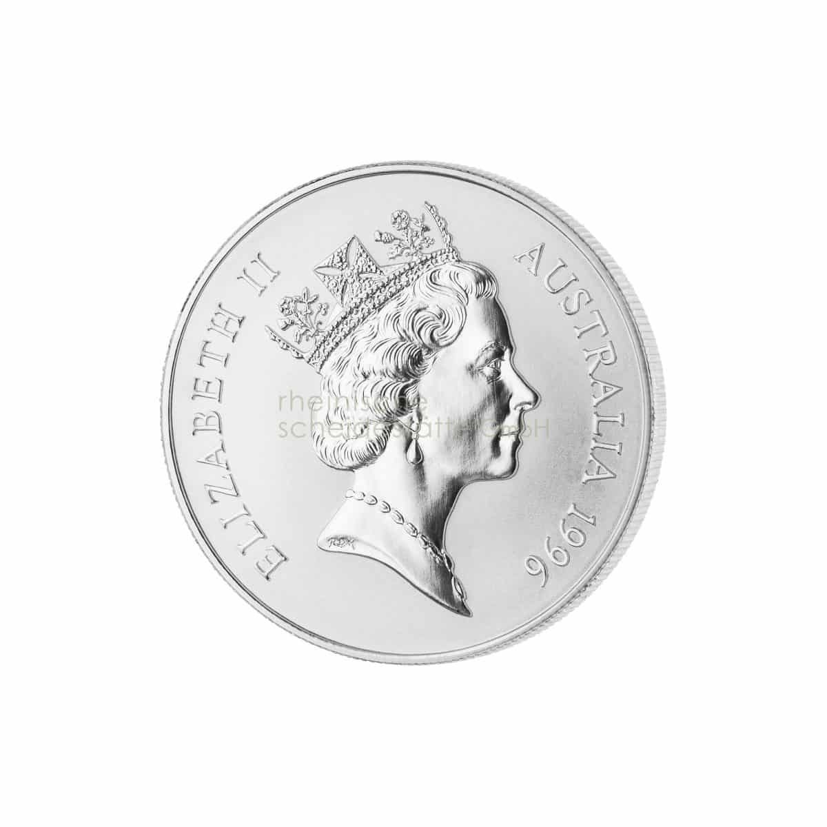 Australian Kangaroo Silber Silbermünzen Rückseite