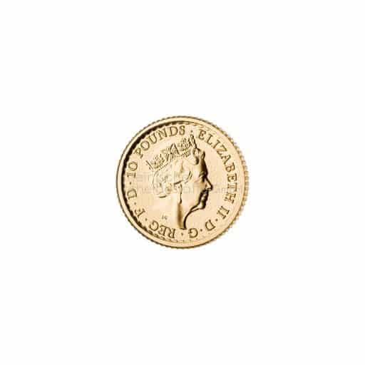 /10 Unze Britannia Goldmünze