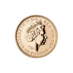 1/2 Unze Britannia Goldmünze Elizabeth II.