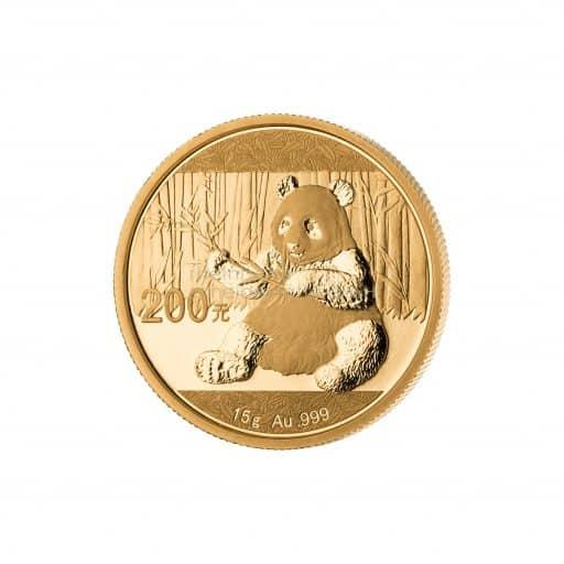15g Goldmünze China Panda