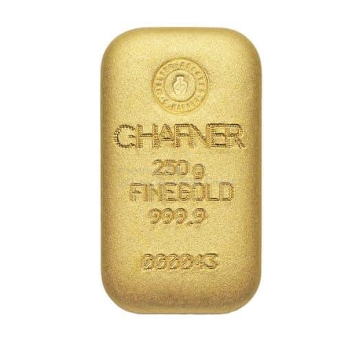 rheinische scheidestaette gmbh goldbarren 250g chafner 1