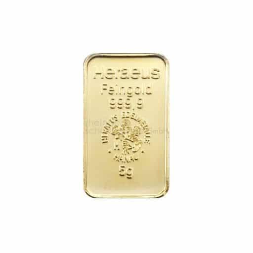 5g Goldbarren Heraeus Feingold