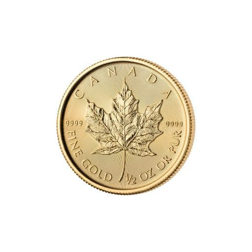1/2 Unze Maple Leaf Goldmünze