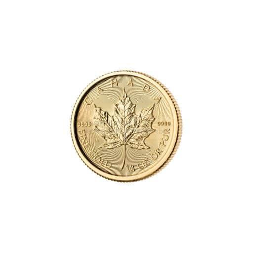 1/4 Unze Maple Leaf Goldmünze