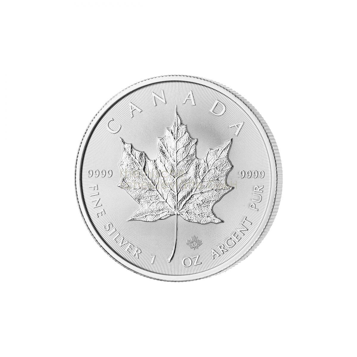 Maple Leaf Silber Silbermünzen Vorderseite
