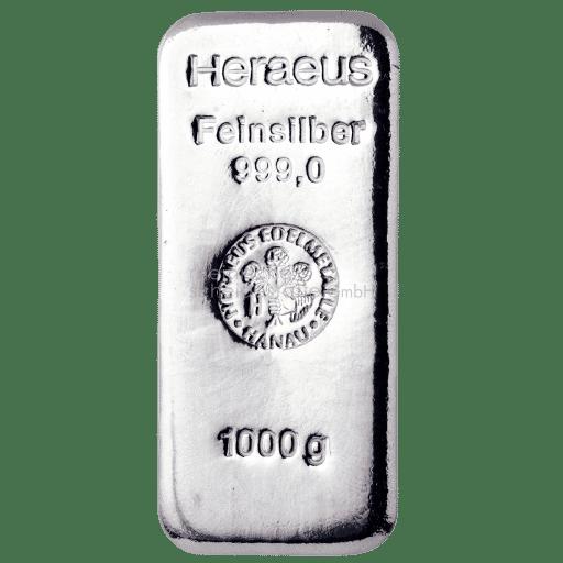 rheinische scheidestaette gmbh silberbarren 1000g