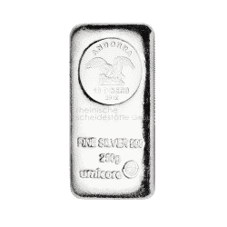 250g Silberbarren Andorra