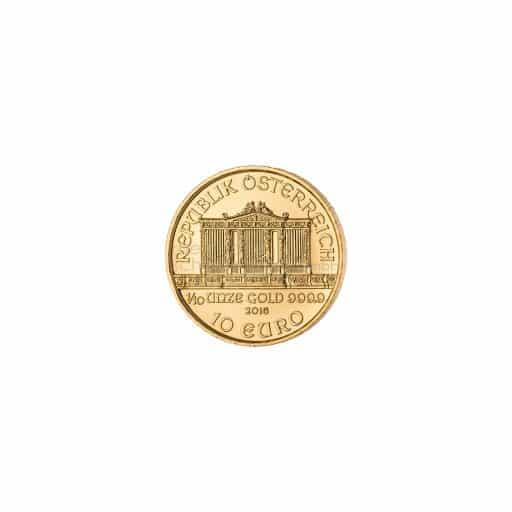 1/10 Unze Gold Wiener Philarmoniker