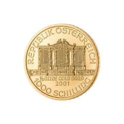 1/2 Unze Wiener Philharmoniker Goldmünze