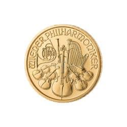1/2 Unze Wiener Philharmoniker Gold