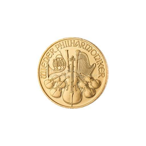 Wiener Philarmoniker 174 Unze Goldmünze