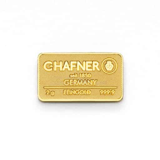 C.HAFNER 2g Gold